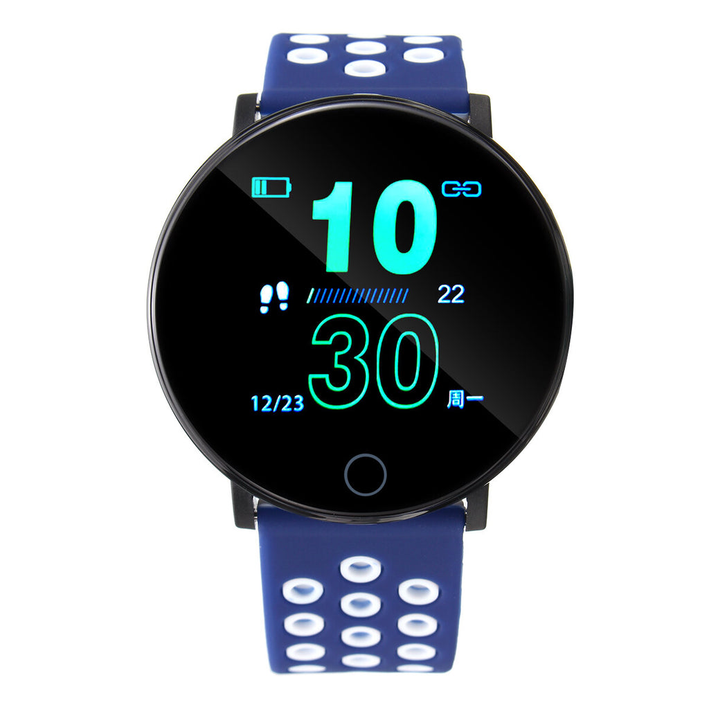 Smart Watch Colorful Heart Rate Monitor Multi-Sport Modes Waterproof Hybrid Smartwatch - Carolina Superstore