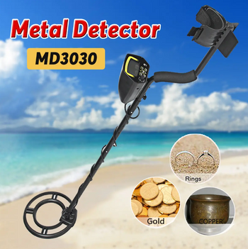 Hunters Creek™ MD3030 Underground Metal Detector Gold Stud Finder Treasure Jewelry Digger Tool - Carolina Superstore
