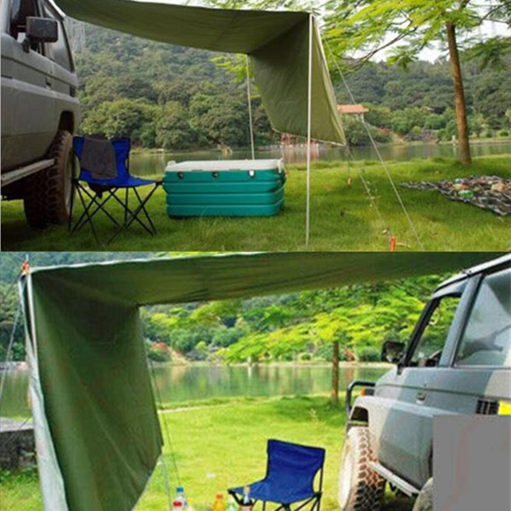 Car Side Awning Rooftop Tent Sunshade Outdoor Camping Travel Tent - Carolina Superstore