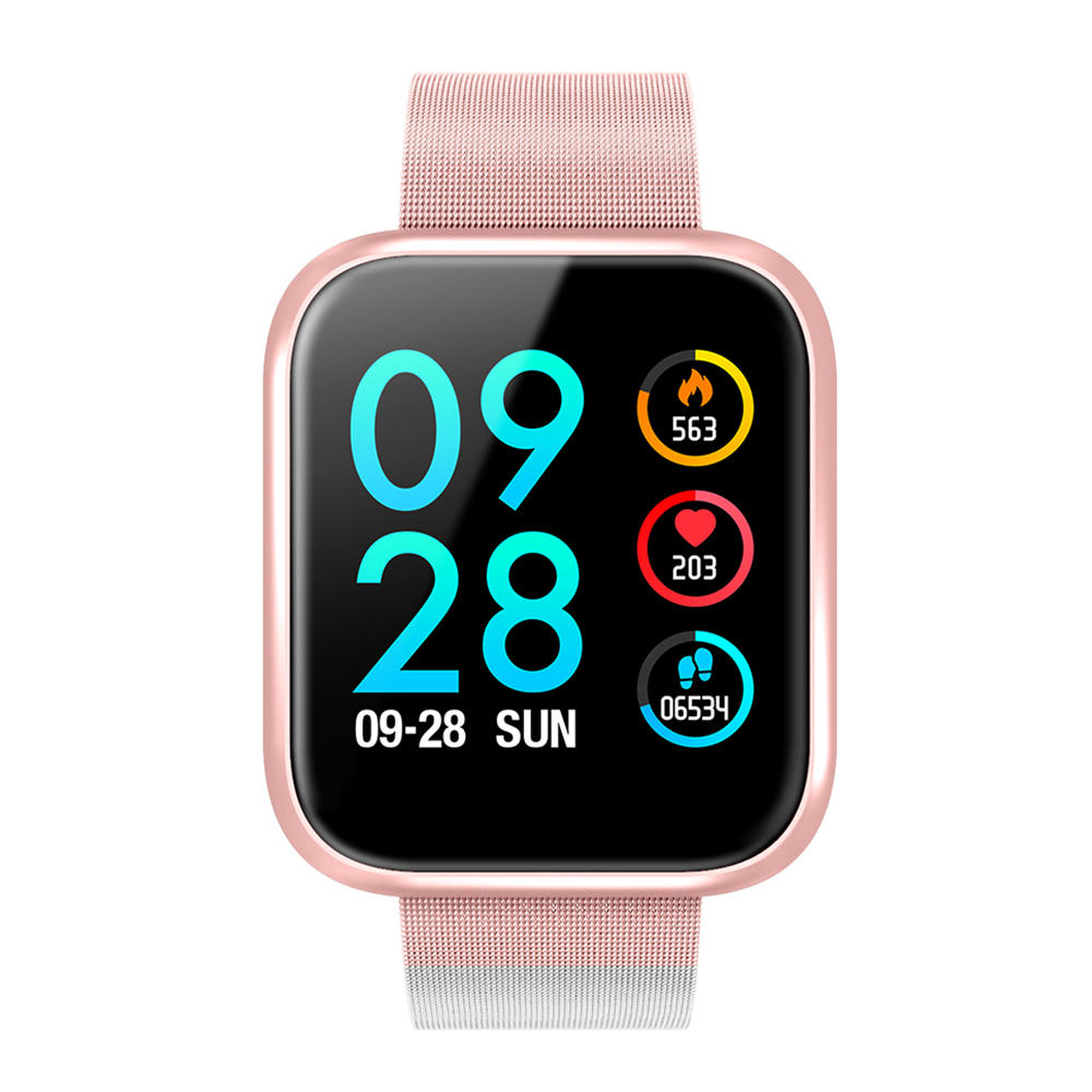 Hunters Creek™ Smart Watch Waterproof Fitness Exercise Sports Bracelet Color Touch Screen Timekeeper - Carolina Superstore