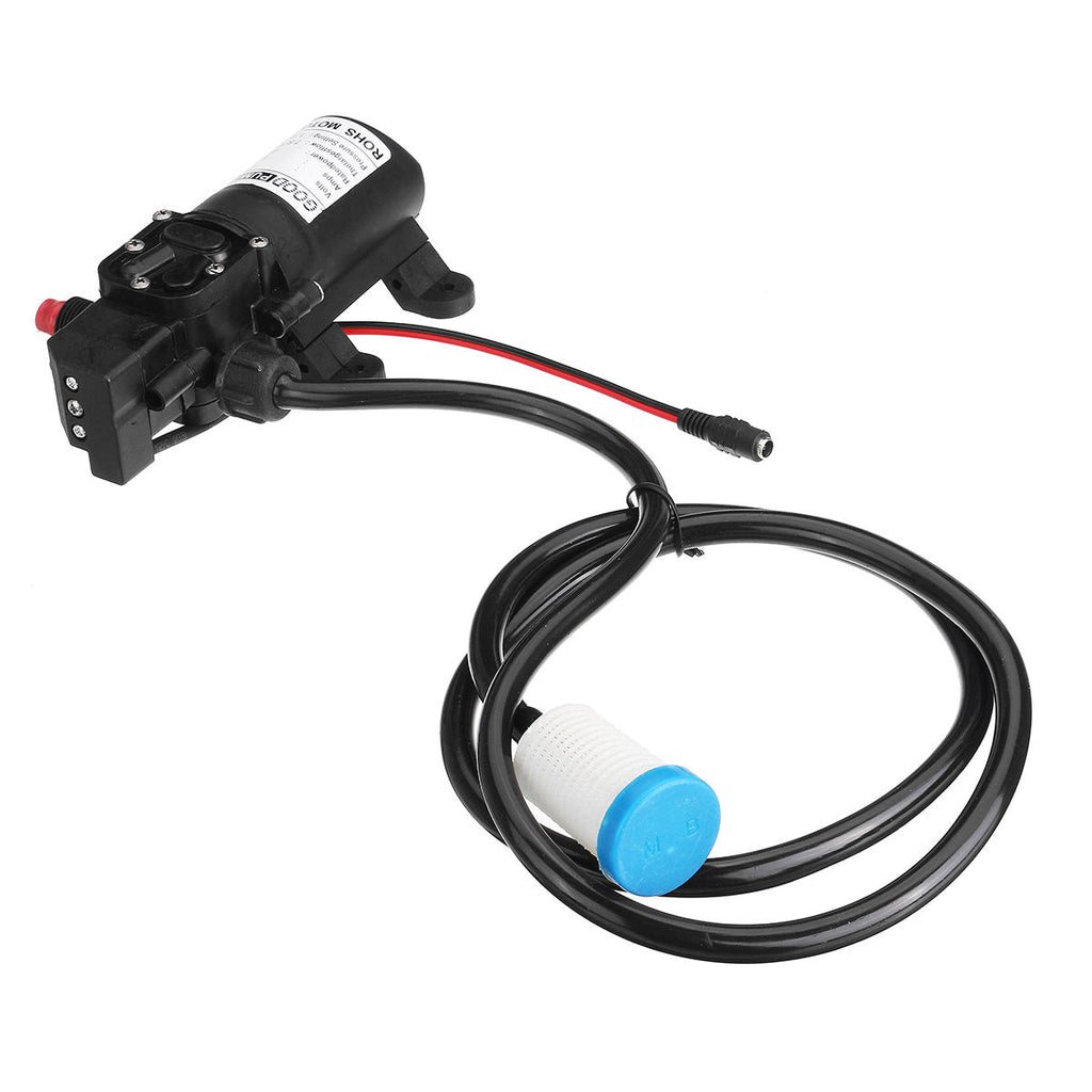 High Pressure Car Electric Washer Squirt Sprayer Self-priming Pump Clean Kit - Carolina Superstore