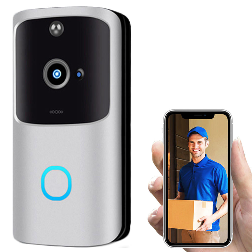 Hunters Creek™ Doorbell Smart Home Wireless WiFi Night Vision Intercom Video Visual Security Recording - Carolina Superstore