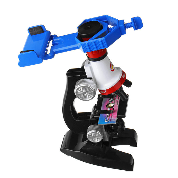 Hunters Creek™ Kids Zoom Illuminated Monocular Biological Children's Microscope Eye Piece Red Gifts - Carolina Superstore