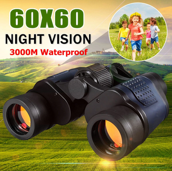 Hunters Creek™ Sports Day Night Vision Tactical Binocular Telescope 60x60-3000M High Definition Hunting Standard Coordinates Telescope - Carolina Superstore