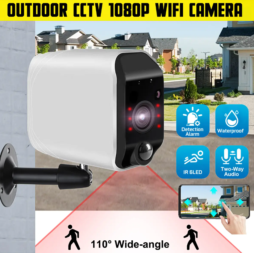Hunters Creek™ Home Security Outdoor CCTV Camera Night Vision Waterproof Motion Detection Audio Record - Carolina Superstore