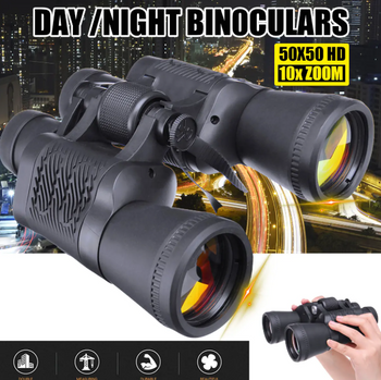 Hunters Creek™ Tactical Outdoor Sports Binocular Powerful Zoom Telescope Hiking Hunting Camping Travel Night Vision Scope - Carolina Superstore