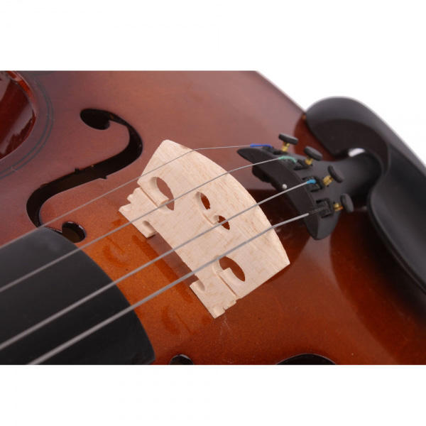 Hunters Creek™ Acoustic Violins Case Bow Rosin for Violin Beginner Musical Instrument - Carolina Superstore