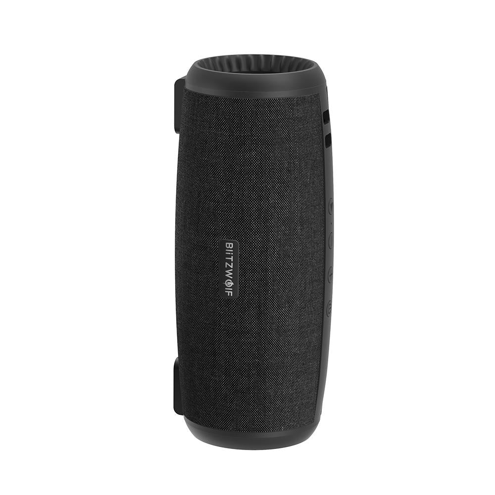 Wireless Bluetooth 5.0 Stereo Audio Speaker Dual Passive Disk Speakers with Mic - Carolina Superstore