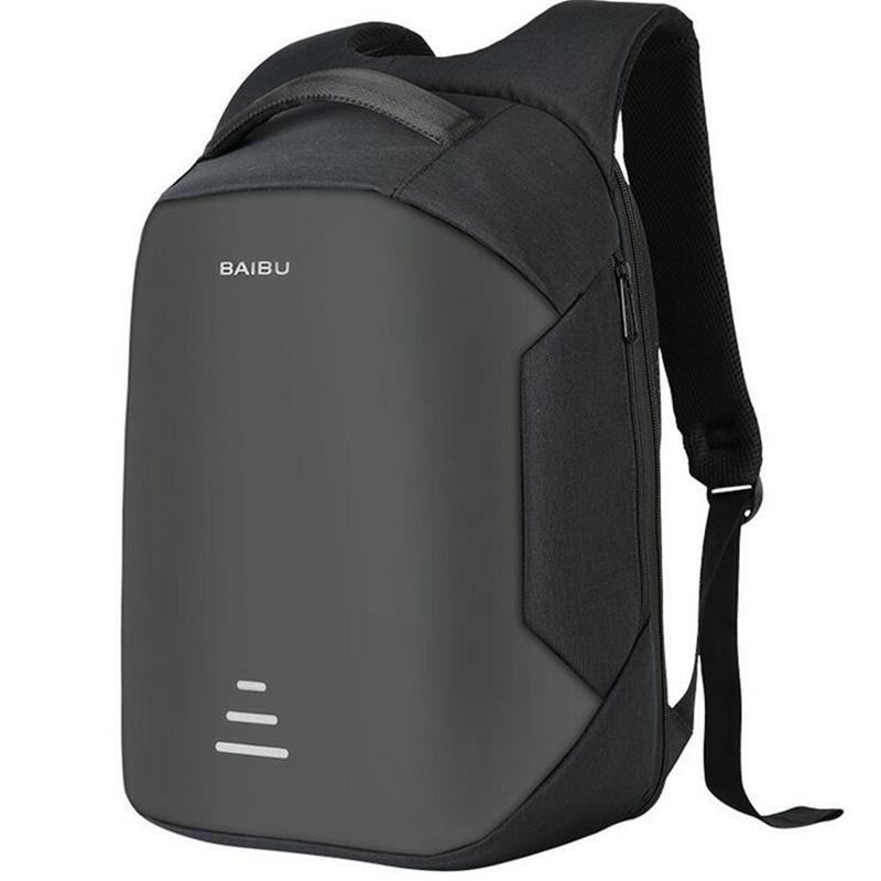 Hunters Creek™ 16 Inch Anti Theft Laptop Notebook Backpack Bag Travel USB Charging Port - Carolina Superstore