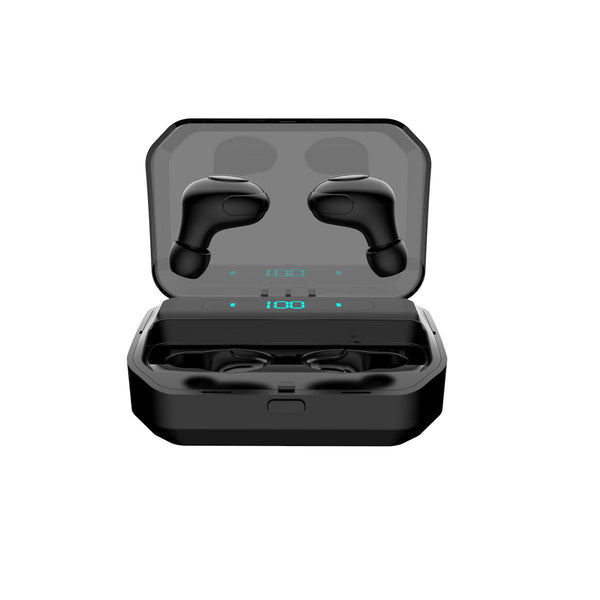 Sport Earphone Auto Pair Headphone Digital Display Bluetooth Wireless Earbuds Noise Cancelling In ear - Carolina Superstore