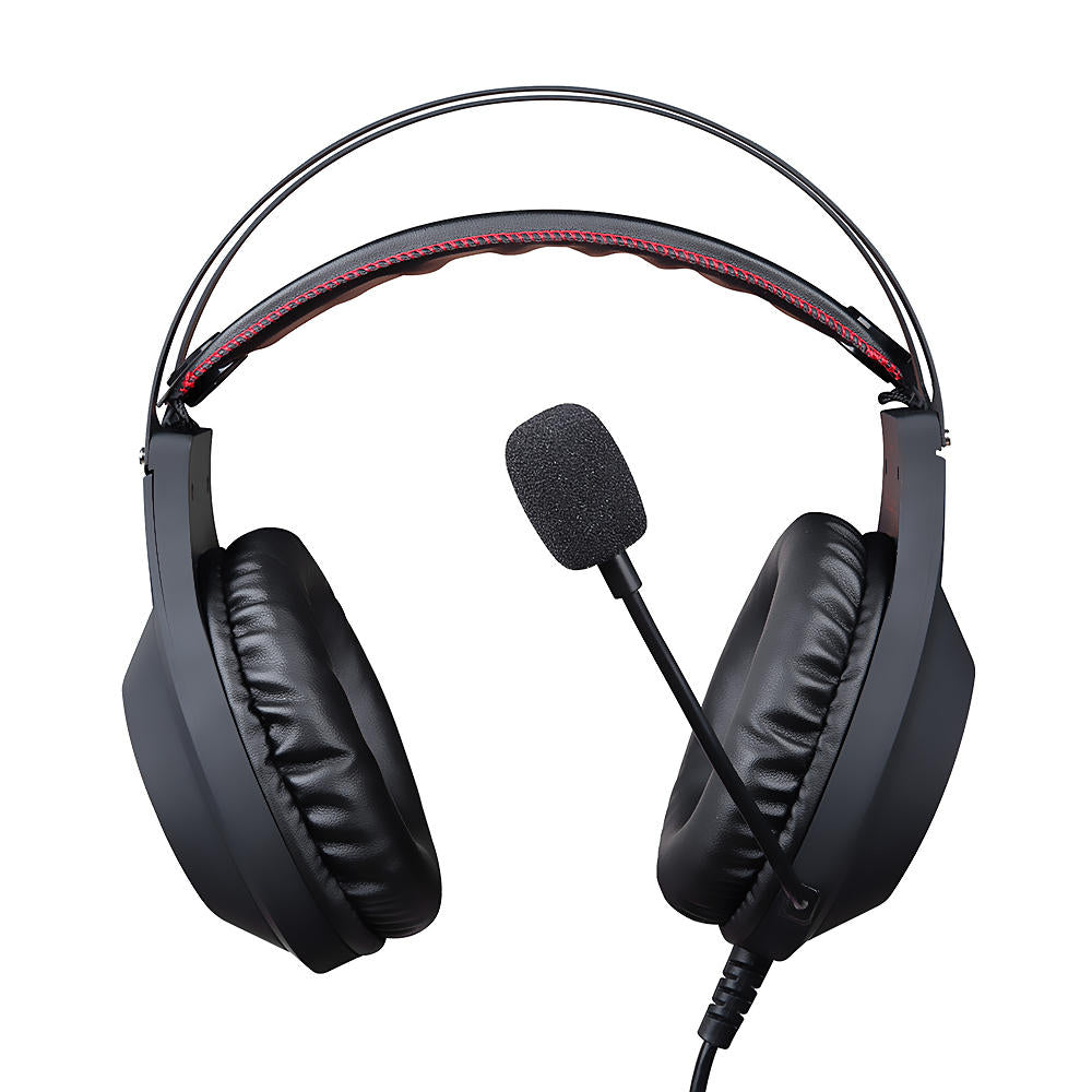 Hunters Creek™ Gaming Headphone LED Over Ear Stereo Deep Bass Noise Canceling Headset With Microphone - Carolina Superstore