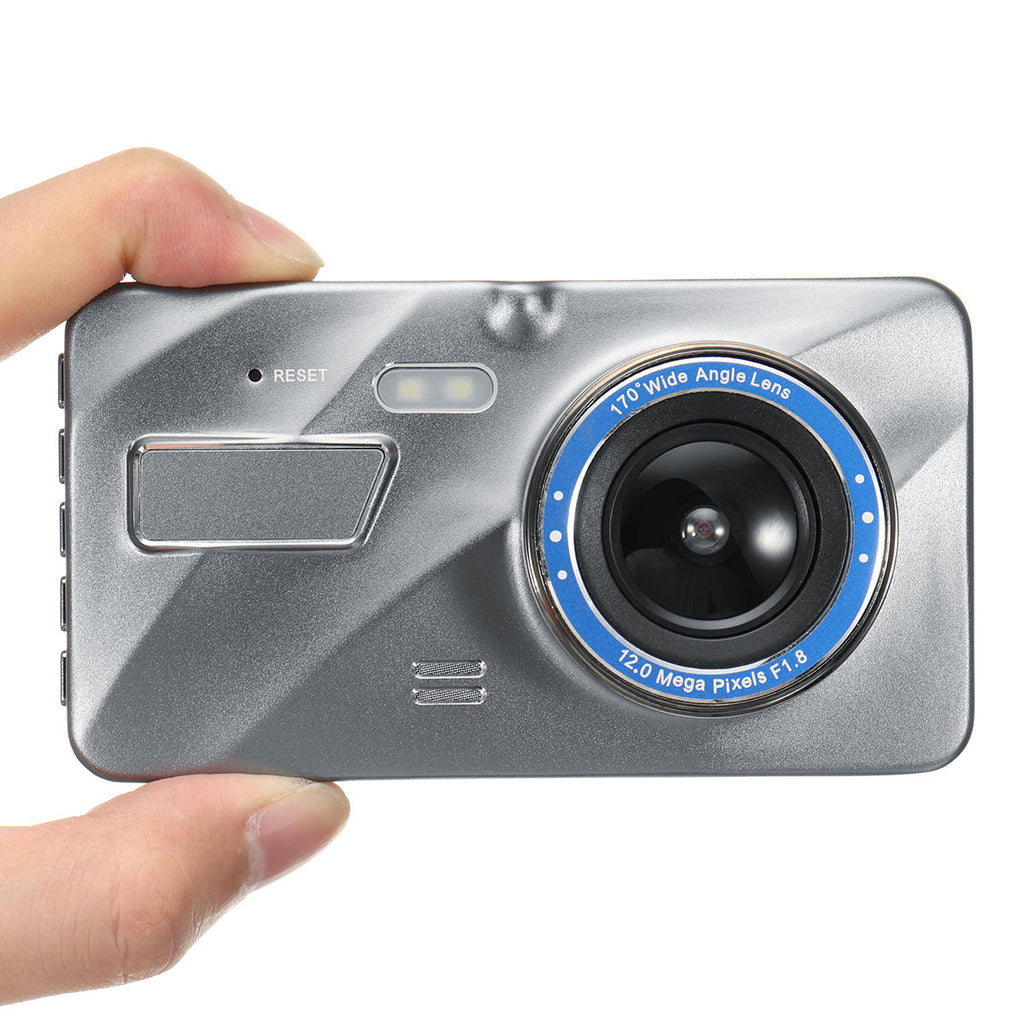 Dual Lens Camera Night Vision Loop Recording Degree Car DVR Video Dash Cam Front Rear Recorder - Carolina Superstore