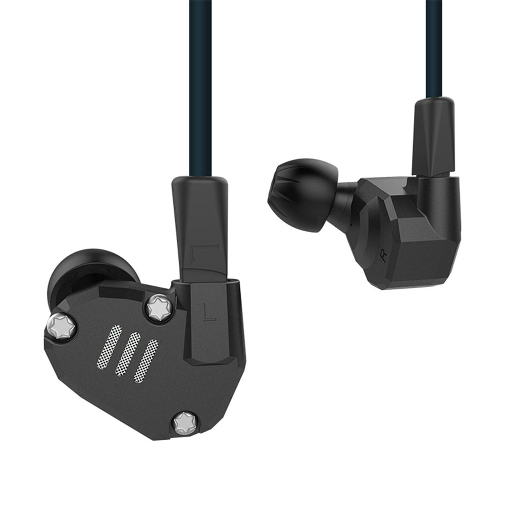Hybrid In ear Earphone Heavy Bass Headphone Earpods Earbuds with Mic for iPhone Sports Headphones - Carolina Superstore