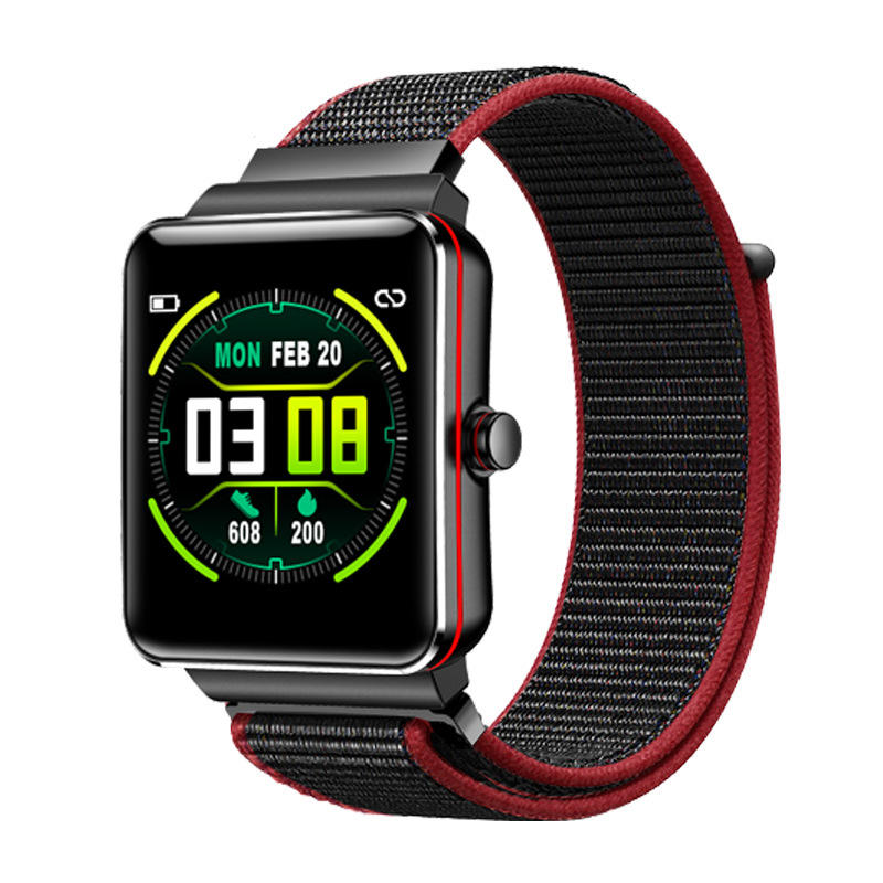 Heart Rate Blood Pressure Monitor Intelligent Female Physiological Alarm Clock Smart Watch - Carolina Superstore