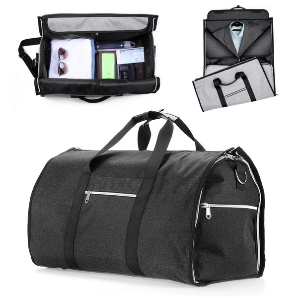Hunters Creek™ 47L Outdoor Portable Travel Luggage Bag Suit Dress Garment Storage Handbag Sports Gym Bag - Carolina Superstore