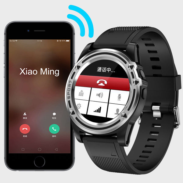 Hunters Creek™ Sport Smart Watch Phone HD Camera Waterproof IPS Bluetooth Anti Lost Support TF Card with Step Counter - Carolina Superstore
