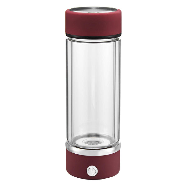 Water Bottle Health Glass SPE Membrane Quantum Hydrogen-Rich USB Water Cup - Carolina Superstore