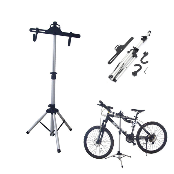 Bike Bicycle Repair Maintenance Stand Folding Workstand Adjustable Holder Repair Tool For Cycling - Carolina Superstore