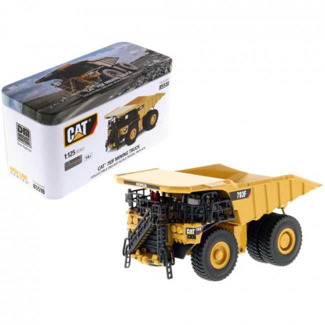 CAT Caterpillar 793F Mining Truck with Operator High Line Series 1/125 Diecast Model by Diecast Masters - Carolina Superstore
