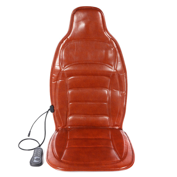 Car Household Heated Full Body Massage Seat Cushion Back Lumbar Pain Relief Vibration Massager - Carolina Superstore