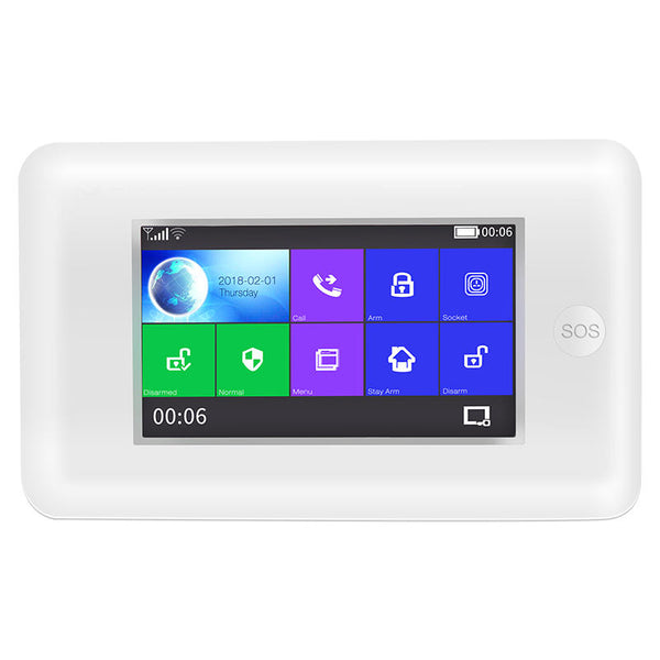 Smart Home Security Alarm System All Touch Screen Alexa Version WIFI - Carolina Superstore