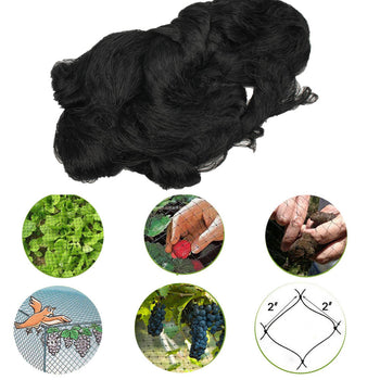 Nylon Anti Bird Netting Garden Fruit Poultry Aviary Game Net 15x25m - Carolina Superstore