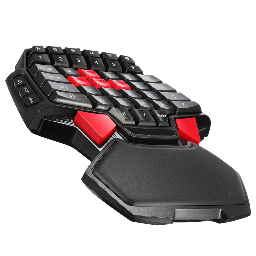 Mini Single Hand Gaming Keyboard for PC Computer Laptop Key USB Wired - Carolina Superstore