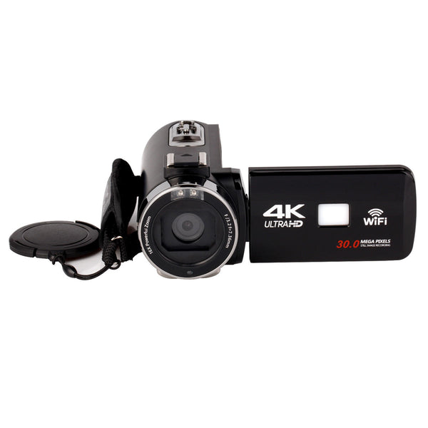 ZOOM Digital Video Camera DV Camcorder with Lens Microphone WiFi Ultra HD - Carolina Superstore