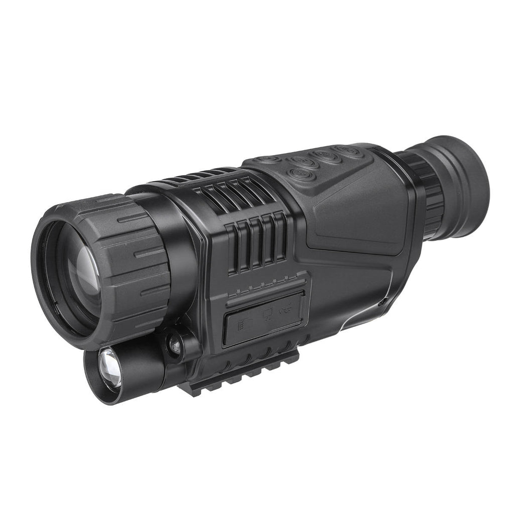 Digital Night Vision Monocular FMC Infrared Telescope Video Camera Telephoto Support - Carolina Superstore