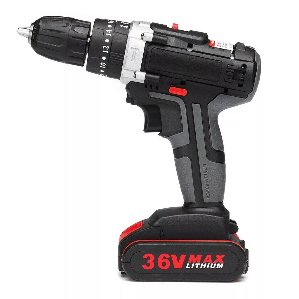 Hunters Creek™ Lithium Cordless Electric Screwdriver Power Drill Driver Lithium Battery - Carolina Superstore