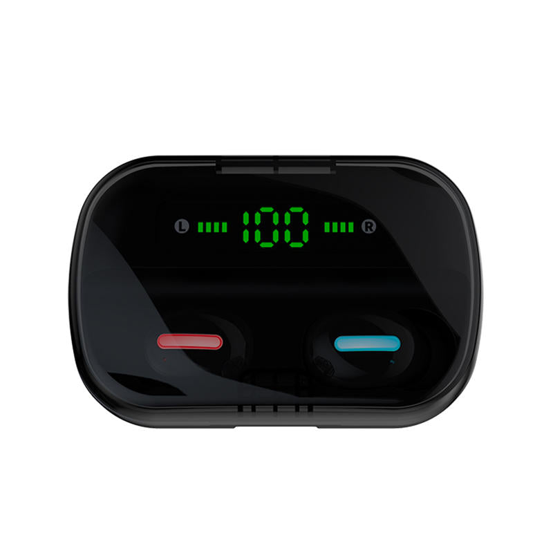 Bluetooth Wireless Earphone Handsfree Waterproof With LED Battery Display Charging Box - Carolina Superstore