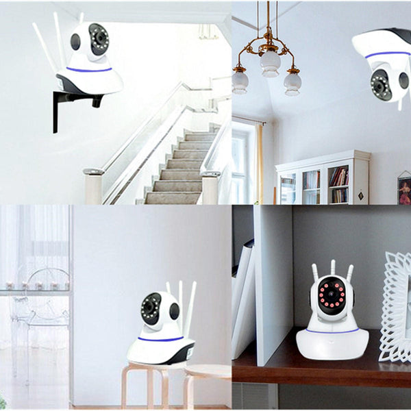 Hunters Creek™ Home Security IP Camera Monitor Outdoor Night Vision Panoramic Wireless Wifi System - Carolina Superstore