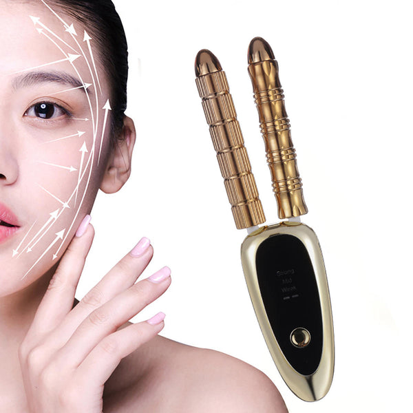 Cordless Electric Facial Massage Vibration Massager Portable Lifting Tightening Thin V-Face Face Eye Nose Body Skin Care Beauty Machine - Carolina Superstore