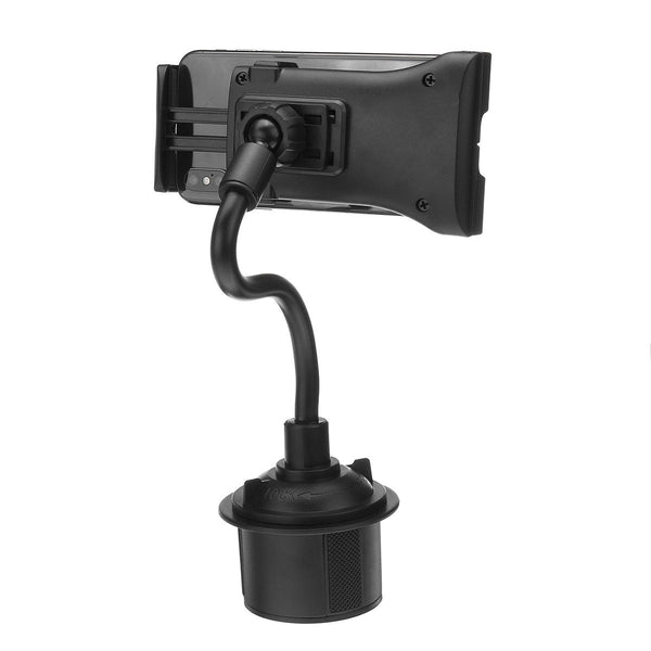 Cup Holder Phone Tablet Mount Stand Holder 360 Degree Adjustable 21cm Flexible Long Arm Car - Carolina Superstore