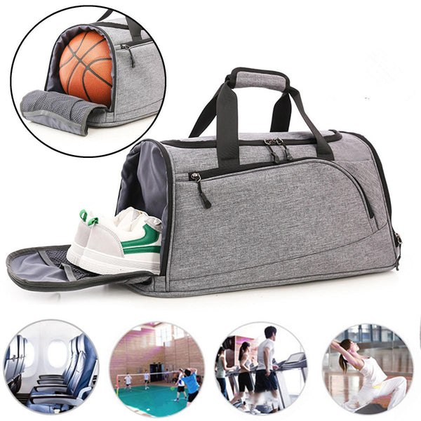 Hunters Creek™ Gym Bag 40L Waterproof Sport Travel Backpack Duffel Satchel Bag Basketball Bag Men Women - Carolina Superstore