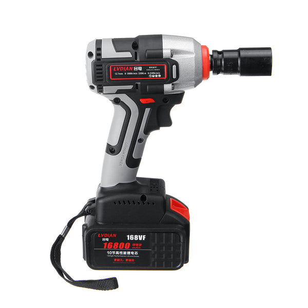 Hunters Creek™ Electric Power Impact Wrench Brushless Cordless Best Drill Hand Tool With Sleeve - Carolina Superstore