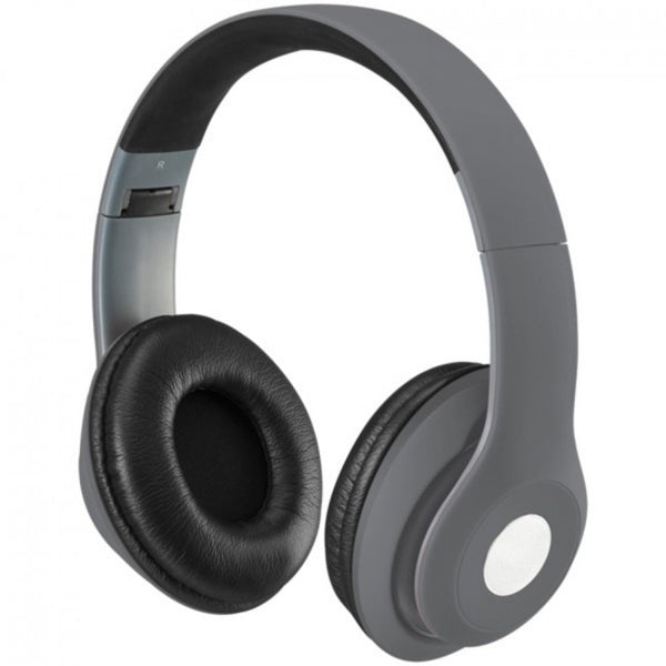 Hunters Creek™ iLive Bluetooth Over-the-Ear Headphones Microphone Matte Gray - Carolina Superstore