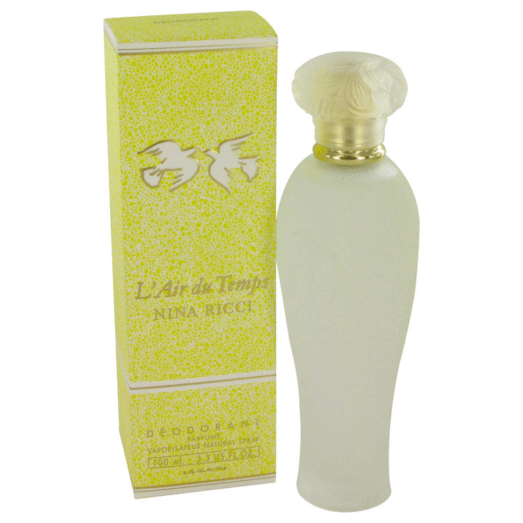 L'air Du Temps By Nina Ricci Deodorant Spray 3.3 Oz Fragrances Perfume For Women - Carolina Superstore