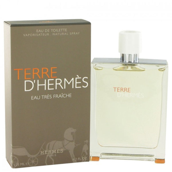 Terre D'hermes By Hermes Eau Tres Fraiche Eau De Toilette Spray 4.2 Oz Fragrances Cologne For Men - Carolina Superstore