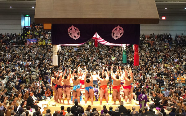 Reborn with tradition, flaming Japanese spirit-SUMO wrestling
