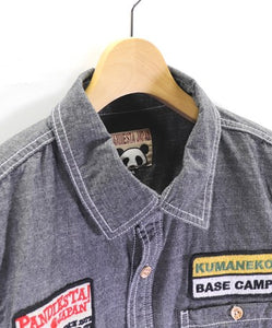 [PANDIESTA JAPAN] Chambray work shirt - sukajack