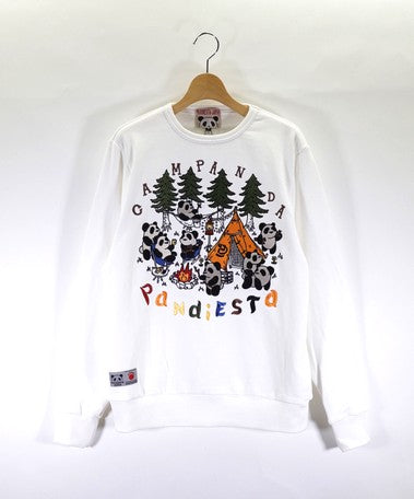 [PANDIESTA JAPAN] Crew Neck Sweatshirt