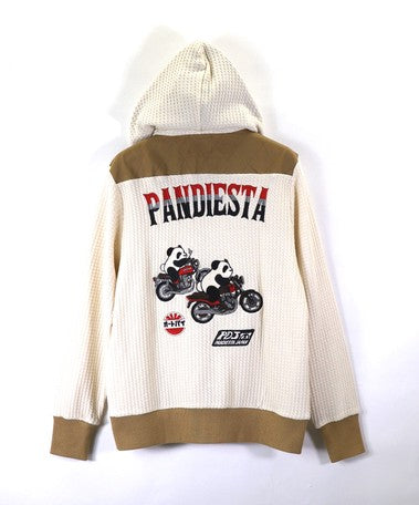[PANDIESTA JAPAN] Pander Rider Japan Full Zip Parka - sukajack