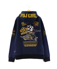 [PANDIESTA JAPAN] PDJ-GIRL2 Full zip hoodie
