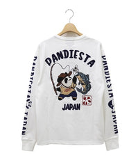 [PANDIESTA JAPAN] Fishing Panda Long Sleeve Tee