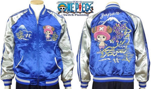 [ONE PIECE]  Tony Tony Chopper Reversible Sukajan - sukajack