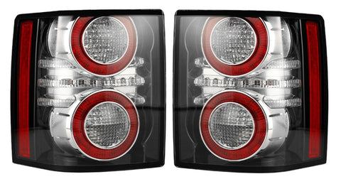 Tail lights left & right angled toward each other