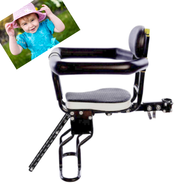 Front Mount Bicycle Baby Child Safety Riding Seat