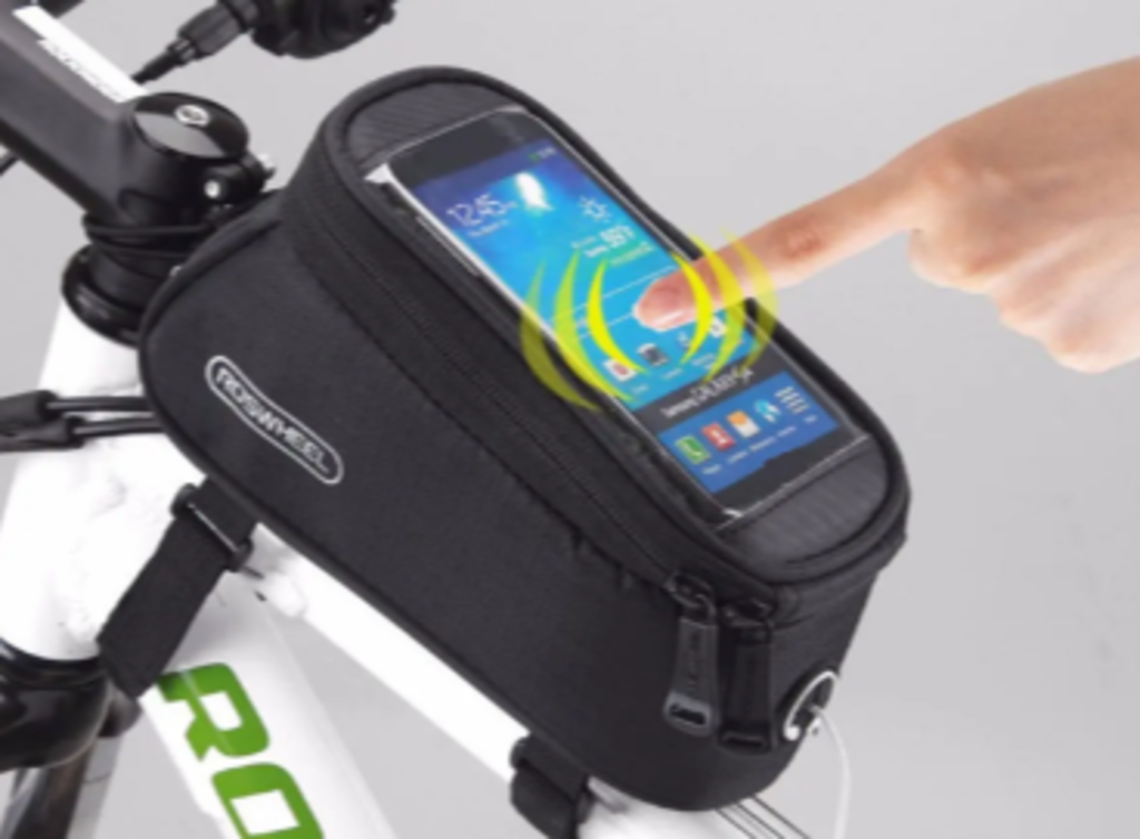 Bike Phone Bag Touch Screen Pouch Front Frame