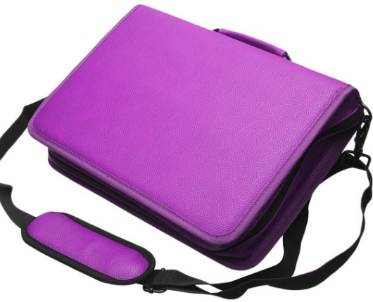Pencil Case Protects 160 Art Pencils and Cosmetic Makeup Bag
